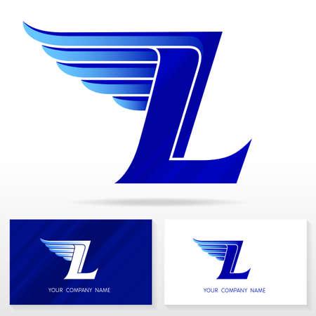 Letter L logo design. Business vector sign. Business card templates.
