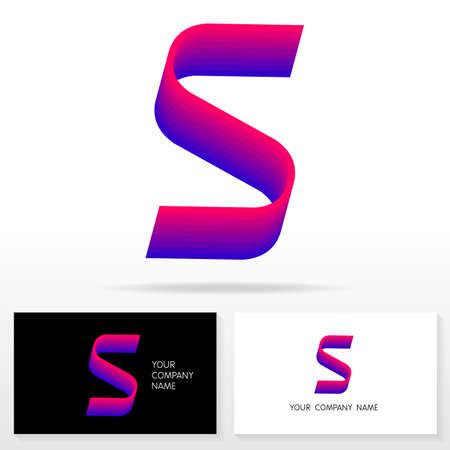 Letter s logo design vector sign business card templates royalty letter s logo design vector sign business card templates stock vector 48627673 flashek Choice Image