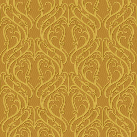 ornate background: Seamless pattern. Abstract golden ornate background.