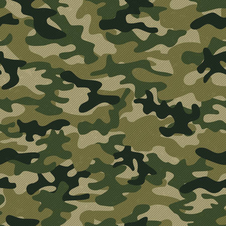 Military camo seamless pattern. Vector background for your design. Ilustracja