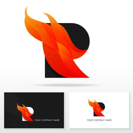 Letter r logo icon design template business card templates letter r logo icon design template business card templates vector illustration stock vector fbccfo Images