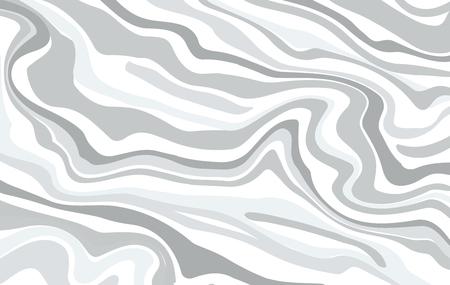 aqua effect: Vector ink marble style texture. Hand drawn marbling effect. Background illustration in grey pastel monochrome colors. Aqua print. Great for greeting and wedding cards, template, banner Illustration