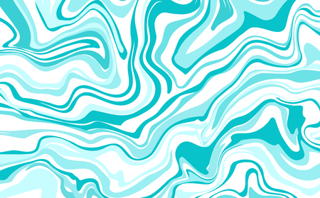 ink marble style texture.  marbling effect. Background illustration in bright blue colors. Pastel colors. Aqua print. Great for greeting and wedding cards, template, banner