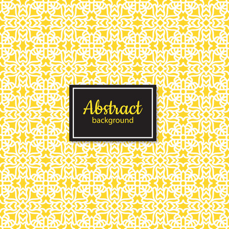 Ethnic geometry seamless pattern background