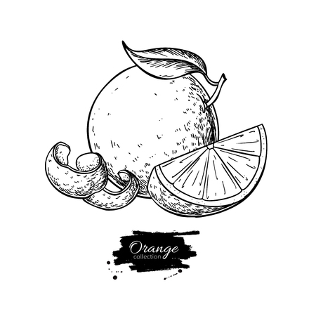 Orange  drawing.