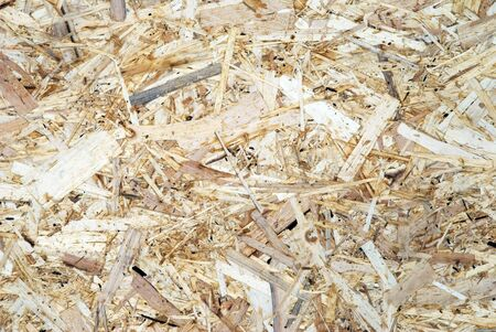background made of pressed wood chips Stock Photo - 17588112