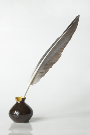 quill in the inkwell
