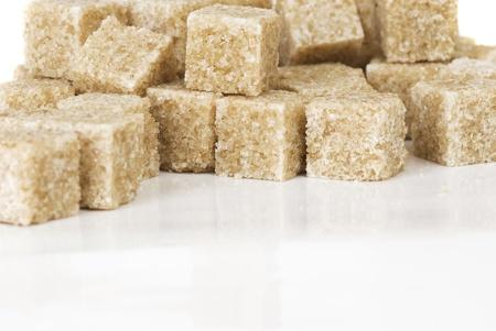 caloric: a lot of pieces of cane sugar