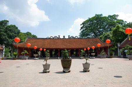 The Temple of Literature, Van Mieu, in Hanoi, Vietnam
