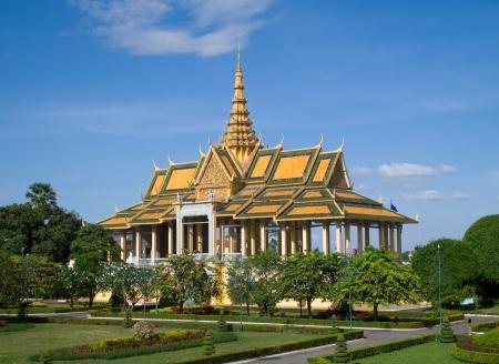 The Chanchhaya Pavilion at the Royal Palace in Phnom Penh, Cambodia