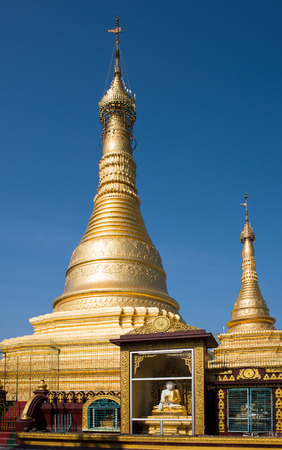 daw: The Thein Daw Gyi Pagoda, the largest Buddhist pagoda in Myeik, Myanmar