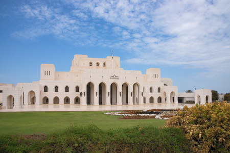 initiated: The Royal Opera House in Muscat, Oman, one of many cultural projects initiated by Sultan Qaboos bin Said al Said.
