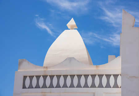 urban culture: Detail of Masjid Aqeel Mosque in Salalah, Oman. The mosque was originally built in 1779, making it one of the oldest mosques in Salalah.