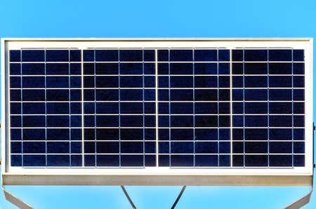 sun energy: Solar panel - renewable and alternative energy, sun energy. Stock Photo