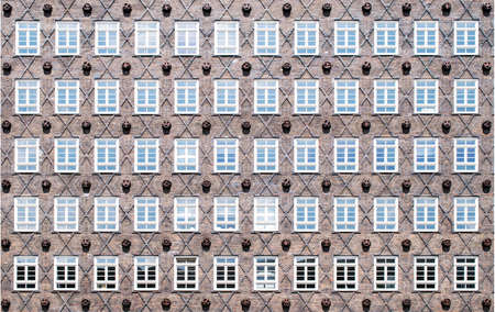 roemer: Old traditional buildings in Hamburg. Germany travel. Stock Photo