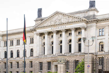 lord's: German Bundesrat. Federal Council. Prussian House of Lords on Leipziger Strasse. Berlin, Germany.