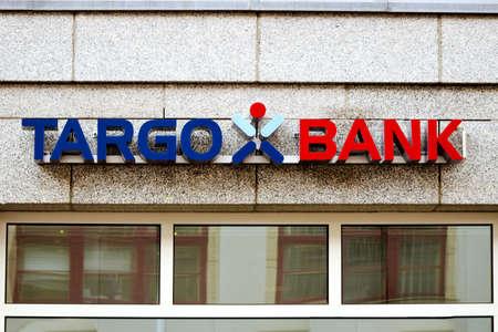 rostock: Rostock, Germany - August 22, 2016: Logo of the brand Targo Bank in Rostock