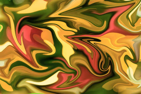 photoshop: Blurry paint abstract background from Christmas tree modify in Photoshop Stock Photo