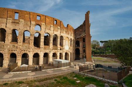 Colosseum. Rome, Italy. Standard-Bild
