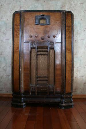 Antique Console Radio