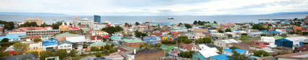 punta arenas: Panoramic view of Punta Arenas, Chile, South America