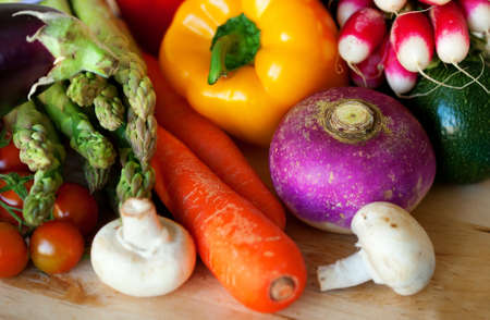 Fresh vegetables ready for cooking Stock Photo - 12425227