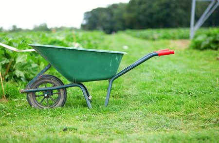 handcart: Handcart on a farm