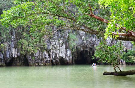 palawan: Entrance to the Puerto Princesa Subterranean River
