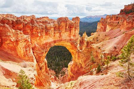 natural bridge: Natural bridge rock formation in Bryce Canyon National Park, Utah, USA