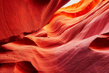 lower antelope: Lower Antelope Canyon in the Navajo Reservation near Page, Arizona USA Stock Photo