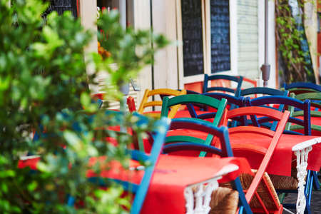 lazio: Cozy outdoor cafe in Rome, Lazio, Italy
