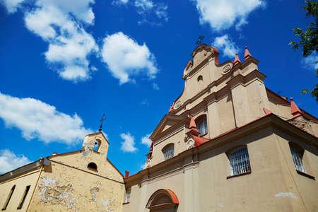 リトアニア、ビリニュス旧市街の聖イグナチオ教会