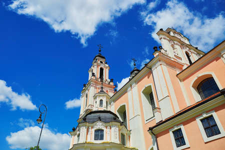 Church of Saint Catherine in Vilnius old town, Lithuania