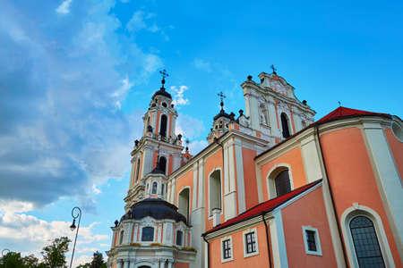 リトアニア、ヴィリニュス旧市街に聖カトリーヌ教会
