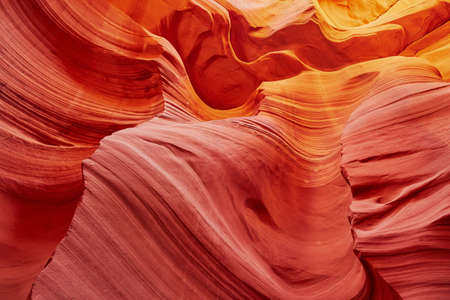 Lower Antelope Canyon in the Navajo Reservation near Page, Arizona, USA Imagens