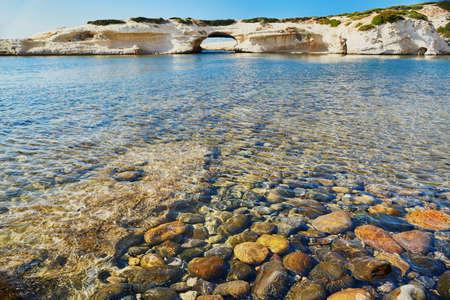 Scenic landscape of eastern coast of Sardinia, Italy