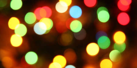 Abstract holiday lights bokeh background Banque d'images