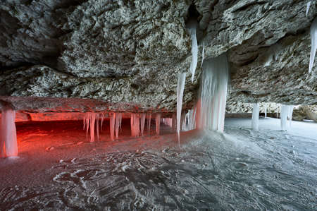 Pinezhsky karst caves in the Arkhangelsk region