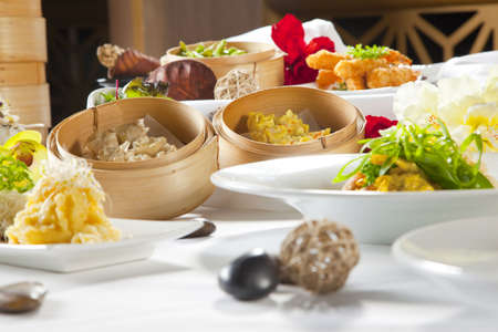 Asian Fusion dishes Stock Photo - 6100185