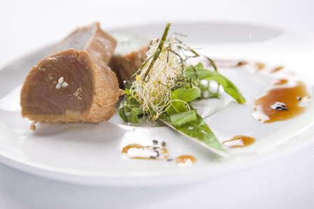 Seared Tuna Stock Photo - 6132894