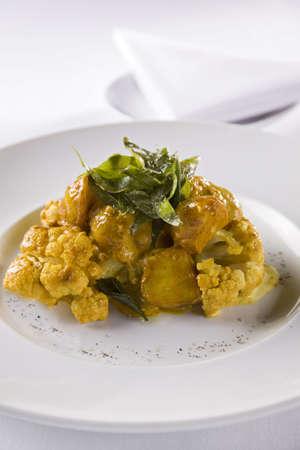 Cauliflower in sauce Stock Photo - 6132924