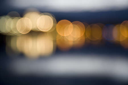 Defocused City Lights  photo