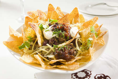 Tasty Crunchy Nachos photo