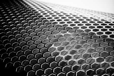 metal mesh: Silver Metal Mesh Stock Photo