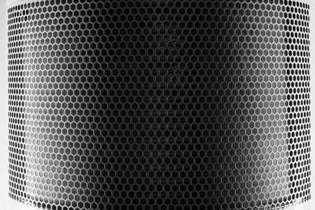 reticular: Silver Metal Mesh Stock Photo