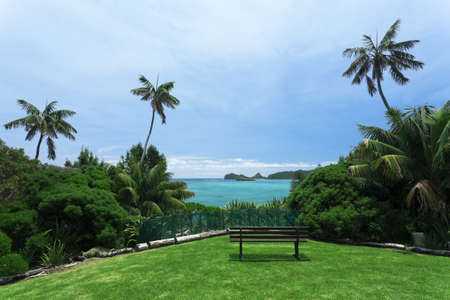 Park at Lord Howe Island Stock Photo - 9764223