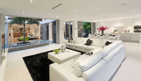 living room window: Superb house interior