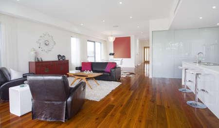 Modern living room in Australian mansion Stock Photo - 16946468