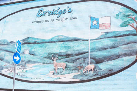 welcome sign: Texas signe de bienvenue et ?uvres d'art peintes