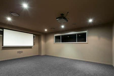 home cinema: Home cinema in Australian mansion